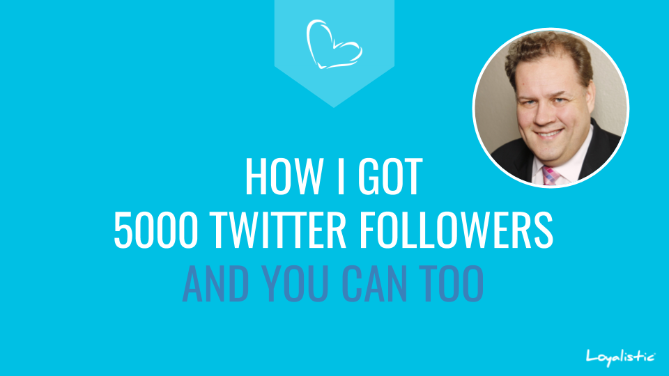 How I got 5000 Twitter Followers